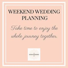 Back to #WeekendWeddingPlanning - The best tip we can ever give you is to enjoy each and every moment of your wedding journey together 💕 #wedding #weddings #blog #blogger #weddingblog #indianwedding #bride #groom #theasianweddingguide #indianwedding #bride #groom #theasianweddingguide #indianwedding #weddinginspiration #weddingplanning #weddingtheme #weddingtrends #indianwedding #weddingtips