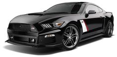 The Roush Mustang in its Stage 3 tune, using a 670bhp supercharged V8
