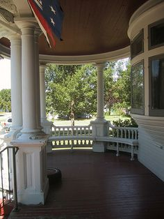 Wrap around porch-- my next home will have one of these