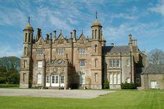 Glenarm Castle, Glenarm, County Antrim, Northern Ireland Ancestral home of the Earls of Antrim, Clan MacDonald of Antrim