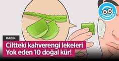 Ciltteki kahverengi lekeleri Yok eden 10 doğal kür! - Faydalı Bilgin