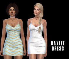 Baylee Dress (P) at Leo Sims • Sims 4 Updates