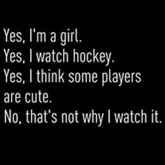 Hockey. This describes my life.