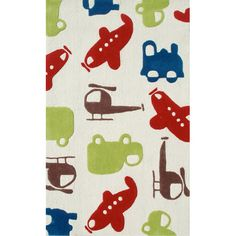 Excursion Rug : All Childrens Rugs at PoshTots
