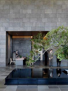 kerry hill architects / aman, tokyo: