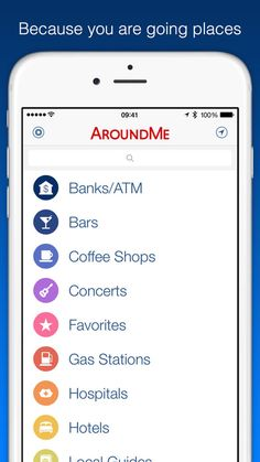 For those who are not geographically talented. Around me is a personal map and assistant. #AroundMe #iPhoneApps #BestApps