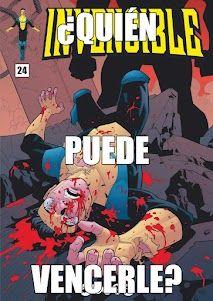 La portada del Invencible 24 hace pupa. Este miércoles 7 de marzo, en Koomic.