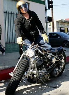Brad Pitt on Zero Engineering