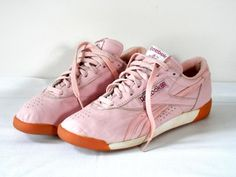 142505c59543 Reserved for Shawn Retro 80s Reeboks Pale Pink Leather Sneakers