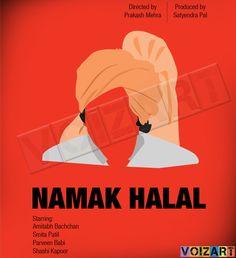 Namak Halal Movie Posters.
