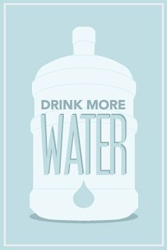 drink more water, your body needs more than you think Health And Beauty, Health And Wellness, Health Tips, Health Fitness, Health Zone, Health Goals, Health Matters, Fitness Diet, Little Bit