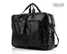 Duża torba męska Solier #Solier