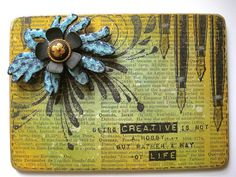 From the Ranger Blog, Melt Art Mania continues with 2 terrific project from Wendy Vecchi!