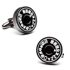 Camera Mode Dial Cufflinks | Top 10 Cool & Creative Best Gifts For Photographers: Funny Camera Gadgets & Accessories Too