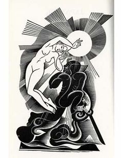 BORIS ARTZYBASHEFF, illustrations to Colum's ORPHEUS, 1930