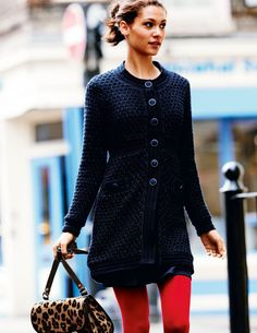 Smart Knitted Coat