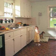 How to paint old kitchen cabinets (by This Old House)