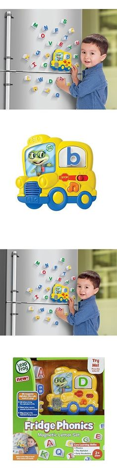 Other Alphabet and Language Toys 11732: Educational Fridge Magnetic Letter Set Phonics Alphabet Learning Songs Kids Fun -> BUY IT NOW ONLY: $31.26 on eBay!