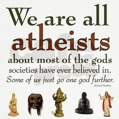 We are all atheists