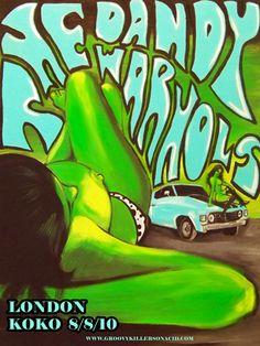 The Dandy Warhols - Cassidy Viser design