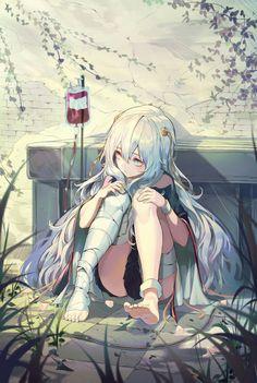 Hospital girl
