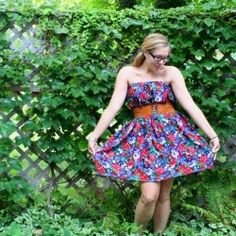 This website is very similar to Pinterest  WARNING- It is addicting too!  Only 3 stitches needed to make this fun summer dress