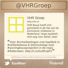 Voor #ontwikkelingen met kwaliteit in #utiliteitsbouw & kleinschalige luxe #woningbouwprojecten in de regio #Rotterdam. http://www.vhr.nl/vhr-ontwikkeling.php