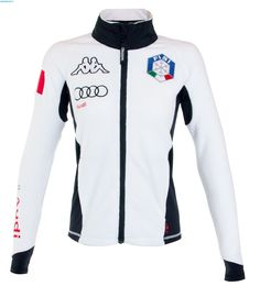Kappa Women Italian FISI Fleece Jacket - White
