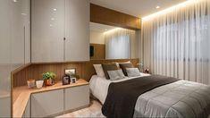 Best Ideas For Furniture Design Cabinet Offices Bedroom Built Ins, Master Bedroom Interior, Small Room Bedroom, Home Decor Bedroom, Grey Bedroom Furniture, Built In Furniture, Trendy Furniture, Apartment Interior, Apartment Design