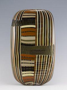 "David Calles ""Pimpolino"".: Kittrell/Riffkind Art Glass :. Neutral Color Scheme, Glass Ceramic, Brown Beige, Mosaic Art, Color Combinations, Art Decor, Glass Art, Contemporary Art, Sculptures"