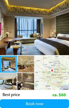 Crowne Plaza Hefei (Hefei, China) – Book this hotel at the cheapest price on sefibo.