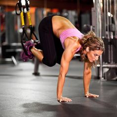 You can get a whole body workout using TRX straps! Top trainers weigh in on what their favorite moves are and how to properly do them. Head to the gym and complete these 14 challenging exercises including planks, push-ups, lunges and burpees, all with the challenge of TRX bands.