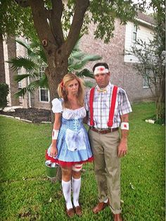 jack and jill costumes for adults | Jack and Jill Halloween Costumes