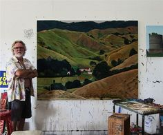 Dick Frizzell | Artist - Page Blackie Gallery Jake And Dinos Chapman, Art Houses, New Zealand Art, Nz Art, Kiwiana, Painters, Home Art, Sculptures, Journal