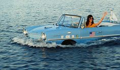 The first and only mass-produced amphibian car for the consumer market was the German Amphicar, which was produced from 1961 to 1968. Cars such as the Amphicar and later successors were only capable of low speeds in water, in the case of the Amphicar around 11 kilometres per hour (7 mph) in the water and 113 kilometres per hour (70 mph) on land:
