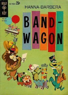 Cover for Hanna-Barbera Bandwagon (1962 series) #1