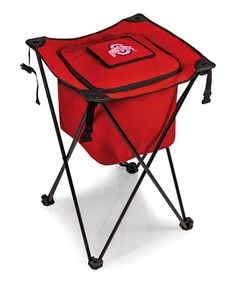 Loving this Ohio State Buckeyes Red Sidekick Cooler Stand on #zulily! #zulilyfinds