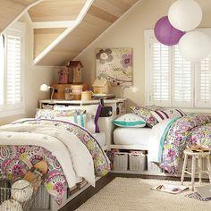 10 idées pour des chambres partagées                                                                                                                                                                                 Plus