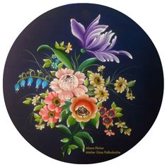 Atelier Gina Pafiadache: Bauernmalerei