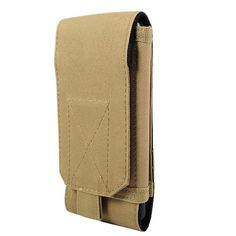 Browse through our large selection of molle compatible military gear. The tactical cellphone pouch is compatible with authentic molle military gear, allowing you to add a wide variety of attachments and customizing your gear in countless unique ways.