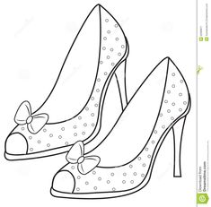 Fashion Illustration Sketches, Fashion Design Sketches, Baby Embroidery, Embroidery Patterns, Ballet Shoes Drawing, Pach Aplique, Shoes Clipart, Pencil Drawing Inspiration, Shoe Template
