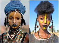 """""""Black Hair in The Media"""" online reference library & pictorial museum. Learn facts about how African hair has been portrayed & stigmatized in mainstream media. Fancy Braids, Long Braids, Undercut Hairstyles, African Hairstyles, Medium Hair Styles, Natural Hair Styles, Images Google, Traditional Hairstyle, Fulani Braids"""