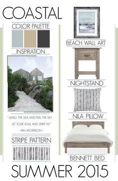 Coastal Living Bedroom Inspiration