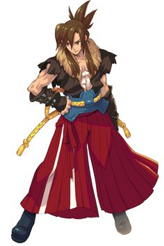 Grappler Male from Wild Arms XF