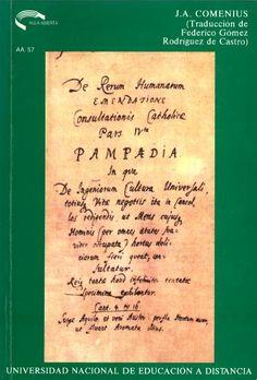 Pampedia : (Educación Universal) / J.A. Comenio ; estudio preliminar y traducción de Federico Gómez R. de Castro