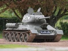 T-34 – This medium Soviet tank was in production from 1940 thru 1958. Though later tanks produced during this time period proved to have better armor and armament, the T-34 is often recognized as the most effective, highly influential and efficient tank design of WWII. After World War II, the T-34 was widely exported. This tank ended out being the highest produced tank of WWII and ranks as second highest produced tank of all times.