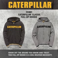 International Thursday.....‪#‎ZipHoodie‬ ‪#‎CatApparel‬ ‪#‎BuiltForIt‬ ‪#‎CatWorkwear‬