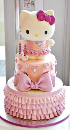 Hello Kitty Cake 4