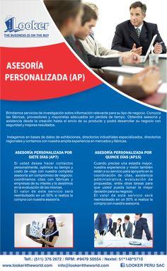 ASESORÍA PERSONALIZADA
