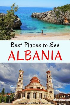 Are you planning a trip to the Balkan? Don't miss Albania! Read about the ultimate itinerary for Albania travel. All the best places to see in Albania so you can plan the perfect itinerary for one, two or three weeks in Albania. best places to see in Alba Europe Destinations, Europe Travel Tips, European Travel, Albania Travel, Visit Albania, Albania Beach, Cool Places To Visit, Places To Travel, Les Balkans